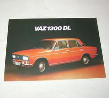 Prospekt / Broschüre Lada 1300 DL - VAZ 2103 !
