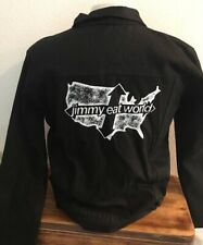 Jimmy Eat World - Mens Black Denim Jacket!