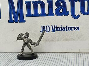 Games Workshop Citadel Judge Dredd JD3 Perp Chapman Pincher 1985 MP-47 The Ghoul