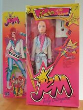 1985 Hasbro Jem & the Holograms Kimber Doll Nrfb! Damaged Box