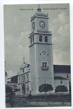 Portugal AZORES Acores Matriz church Ponta Delgada old 1910s postcard