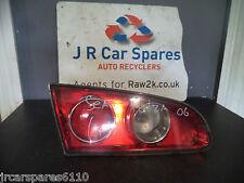 2006 SEAT IBIZA N/S PASSENGERS SIDE INNER TAILGATE REAR LIGHT