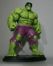 Signed Sketched BOWEN DESIGNS HULK  SAVAGE STATUE EXCLUSIVE MARVEL Red AVENGERS