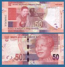 South Africa 50 Rand P New 2018 UNC Nelson Mandela Centenary 100 Commemorative