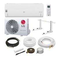 LG Standard S12EQ R32 3,5kW Klimaanlage Inverter Wärmepumpe + Montageset