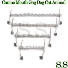 4 Canine Mouth Gag Dog Cat Animal Veterinary Instruments