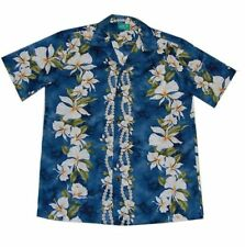L Short Sleeve Regular Size Hawaiian Casual Shirts for Men