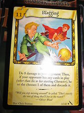 HARRY POTTER TCG GAME CARD CHAMBER OF SECRETS BLAGGING 3/140 RARE MINT ENGLISH