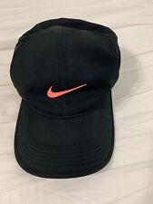 Nike Featherlight Dri Fit women's tennis golf cap Black