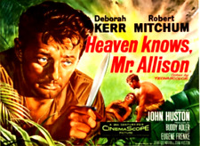 16mm Feature Film: HEAVEN KNOWS, MR. ALLISON (1957) Robert Mitchum - EXC. FUJI