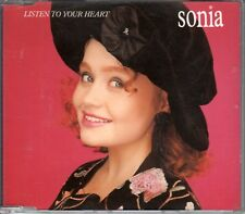 Sonia CD-SINGLE listes To Your Heart (c) 1989 PWL