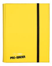 9 Pocket Pro-Binder - Yellow Ultra Pro GAMING SUPPLY BRAND NEW ABUGames