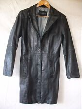 VESTE LONGUE REDSKINS CUIR  T- L LEATHER JACKET VINTAGE