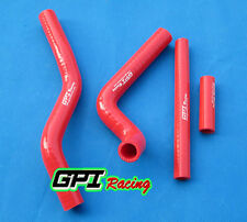Silicone Radiator Hose FOR Suzuki RM125 2001-2008 2002 2003 2004 2005 2006 RED