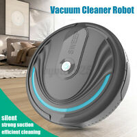 Automatic Smart Robot Vacuum Cleaner Cleaning Sweeper Silent Strong Suction  A