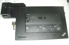 Lenovo ThinkPad 4337 Docking Station T410 T420  T430 T510 T520 X220 with Key