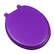 Plumbing Technologies 6F1R1-49 Deluxe Soft Round Toilet Seat, Purple