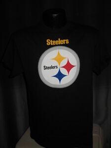 NFL Pittsburgh Steelers Troy Polamalu #43 Jersey Shirt Mens Sizes Team Logo Tee