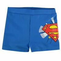 Superman Childrens Swim Pants Trousers Trunk Boys Breathable 5-6 Yrs A431-20