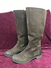 Timberland Chocolate Brown Knee Length Boots Size 6