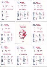 BIG LEAGUE MANAGER BLM 1960 CINCINNATI REDS REDLEGS TEAM SET 26ct NICE CONDITION