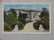 Vintage Postcard Mary Pickford's Residence Los Angeles CA Unposted