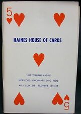 Haines House of Cards #5