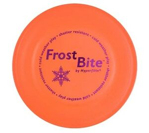 Hyperflite Frostbite Dog Frisbee Disc Cold Weather Shatter Proof Flyer US Made