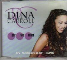 (BL282) Dina Carroll, One, Two, Three - 1998 CD