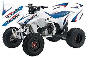 HONDA TRX 450R / DECAL KIT / GRAPHICS / BLUE LIHGT