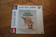 Goodbye Emmanuelle 1977 Laserdisc LD Japan NTSC OBI STLI-2011 Sylvia Kristel