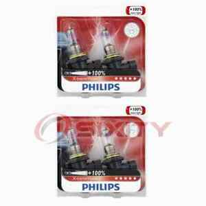 2 pc Philips Low Beam Headlight Bulbs for Ferrari 348 GTB 348 GTS 348 Spider qp