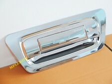 CHROME TAILGATE HANDLE COVER TRIM FOR CHEVROLET HOLDEN COLORADO PICKUP 12 13 14