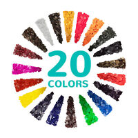 Premium Candle Making Dye Chips - 20 Pigments for Soy Wax Candle Vegan Non-Toxic