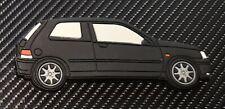 Renault Clio 16v RT Fridge Magnet Black