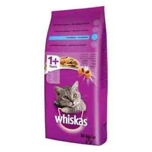 14 kg WHISKAS Thunfisch und Gemüse Trockenfutter für Katze 1+