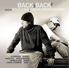 BACK 2 BACK 2 = Holgi Star & Pierre Deutschmann =2CD= ELECTRO+TECH+HOUSE+GROOVES