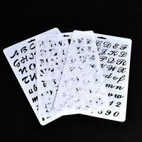 Lettering Stencil Letter Alphabet Stencils Painting Paper Number-Lettering #YY2