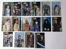 Star Wars ATOC 7-11 Japanese mini card set - 16