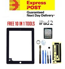 For Apple iPad 2 Black Digitizer Front Glass Touch Screen Replacement Screen