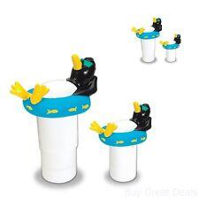 New Swimming Pool Spa Floating Penguin Pool Chlorinator Chlorine Dispenser