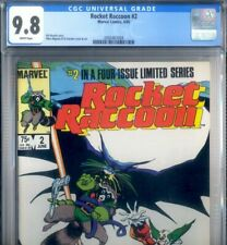 PRIMO:  ROCKET RACCOON #2 Limited NM/MT 9.8 cgc HIGHEST CENSUS '85 Marvel comics