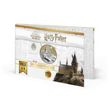 Collection Harry Potter 50 Euro Argent Colorisée - Chateau de Poudlard
