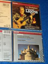 2 CD ALEXANDRE LAGOYA triomphes CONCERTO ARANJUEZ michel HARD almeida PHILIPS