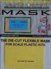 Eduard 1/48 EX033 canopy masque pour le tamiya F4U-1D corsair kit