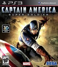 Captain America Super Soldier PS3! HERO, AVENGERS, BATTLE WWII ARMY, SHIELD