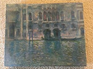 Vintage 1971 MONET Palazzo Da Mula Venice SPRINGBOK Puzzle 450+ Pieces SEALED