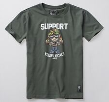 PGwear Herren T-Shirt 1312 rot navy schwarz Ultras Pyro Fussball Bier
