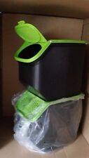 Tupperware 2 x Kartoffellager Kartoffelbehälter Vorratsbehälter grün  Neu
