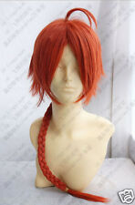 GINTAMA KAMUI CORAL Orange costume Cosplay Wig 70cm H-22